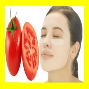 aprenda a fazer mascara facial de tomate