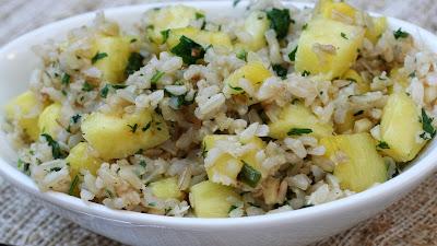 Салат куриное филе, рис и ананас - Ресторан дома