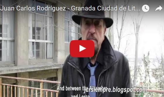 Juan Carlos Rodríguez - Granada Ciudad de Literatura Unesco