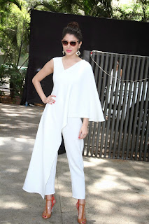 Anushka Sharma Looks Absolute Stunner in White Single Sleeves Dress at Music Launch of Dil Dhadakne Do