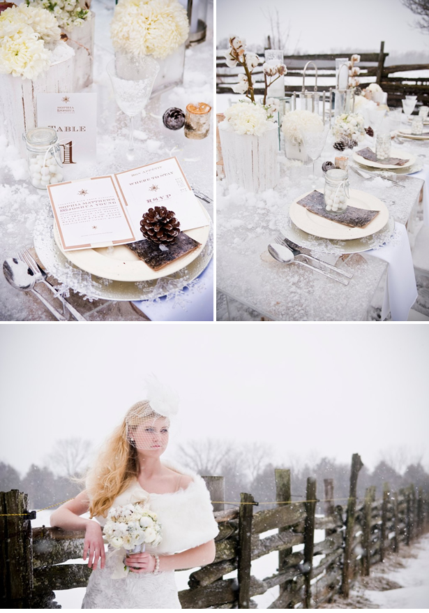 Would you do a Christmas themed wedding For me this is a little bit too