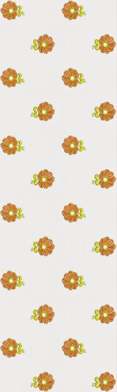 antieke borduurwerk Oral patroon