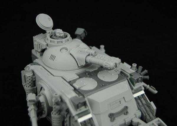 Warhammer 30k Sons of Horus  SOH+Predator+WIP+09