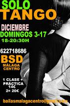 SOLO TANGO EXPRESS, 3 Y 17 DE DICIEMBRE EN BSD BAILAS SOCIAL DANCE MÁLAGA CENTRO.