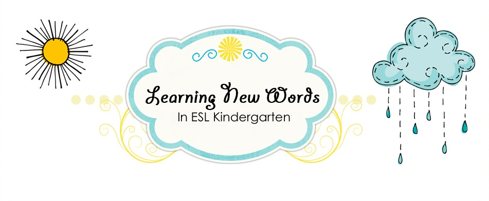Learning New Words in ESL Kindergarten