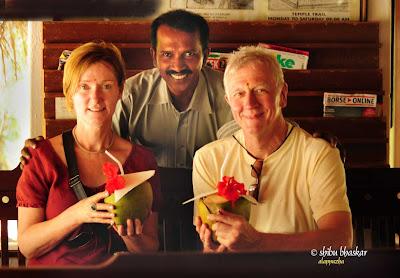 Brian and Lynn with Shibu Bhaskar