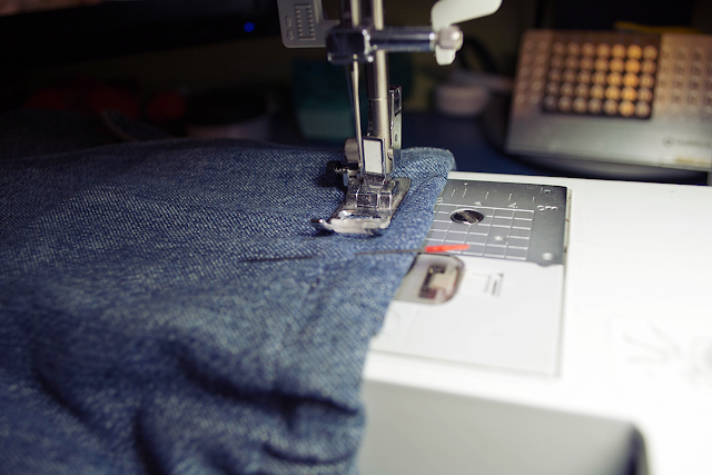 recycle old baggy jeans reciclar pantalones vaqueros viejos