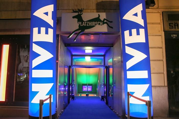 NIVEA Protect & Shave Eingang Platzhirsch