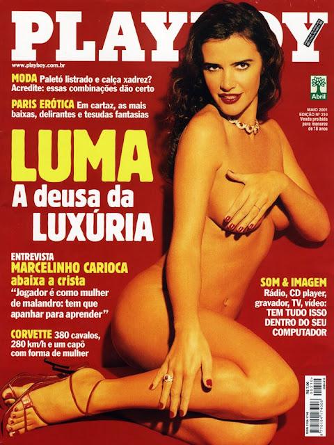 Luma de Oliveira - Playboy 2001