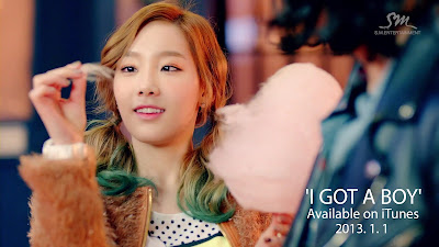 SNSD Taeyeon I Got A Boy Wallpaper HD