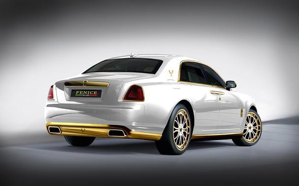 سيارة الشبح الذهبي