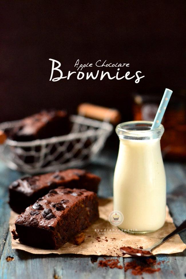 Apple Chocolate Brownies