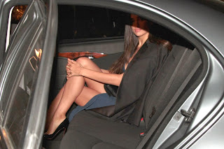 Irina Shayk Cleavage And Legs Candids At Roberto Cavalli Boutique Opening In Milan 003.jpg