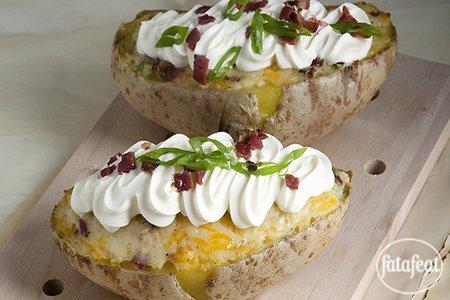 صورة البطاطا المخبوزة السهلة - فتافيت