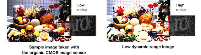 Panasonic and Fuji's New Sensor graphic comparison of sensors