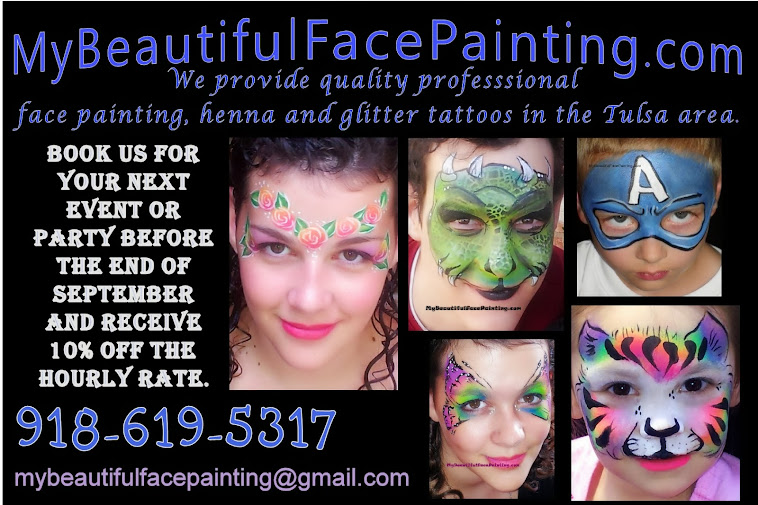 my beautiful face painting tulsa