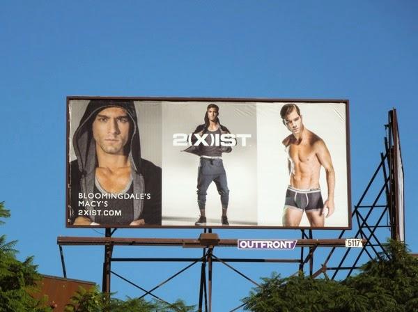 2Xist everyday active gear billboard