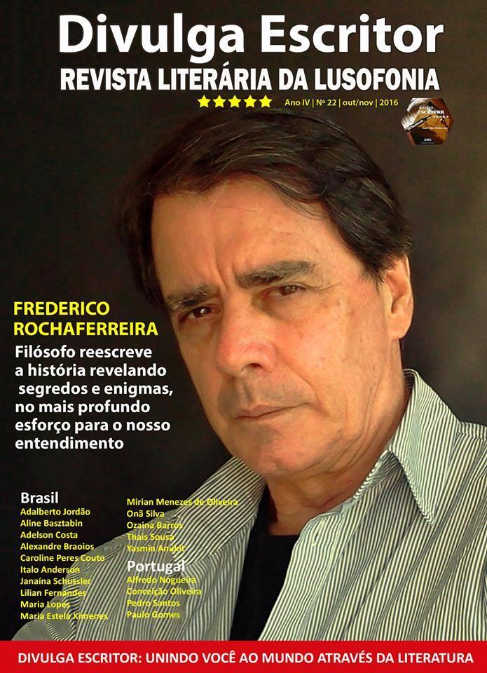 Texto «NUM REINO SUI GENERIS» de Isidro Sousa publicado na revista «DIVULGA ESCRITOR»
