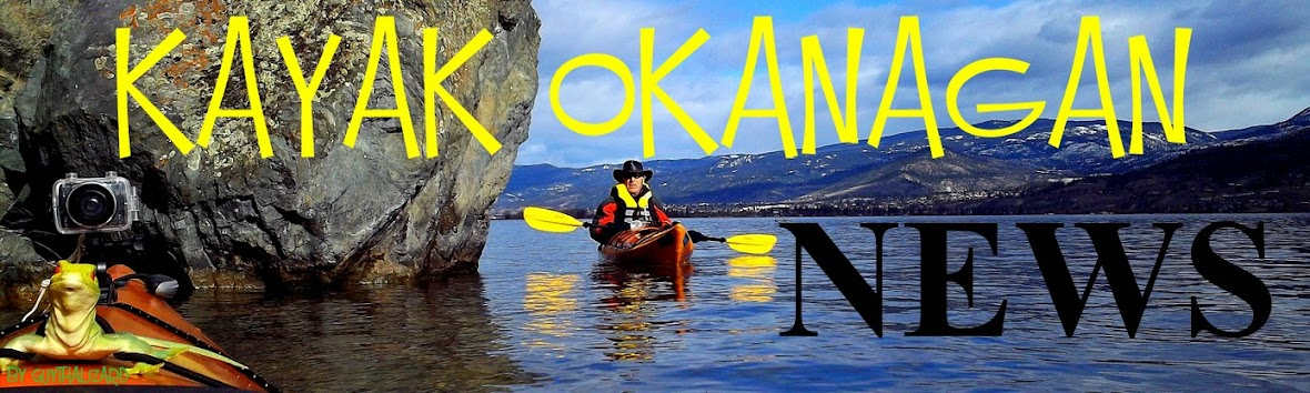 KAYAK Okanagan NEWS #KAYAKING #Okanagan #NEWS