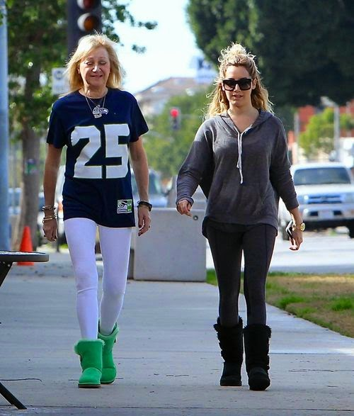 Comfy casual duo | Styling twins: Ashley Tisdale and her MOM