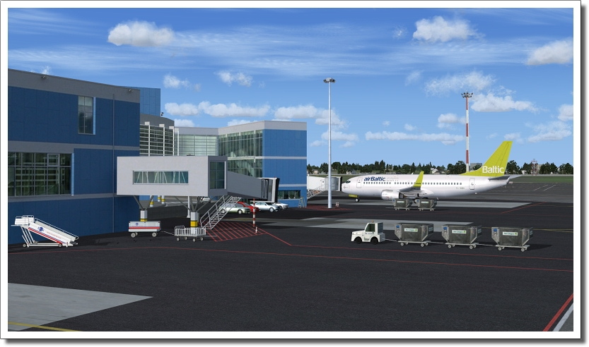 FSX-AES-VILNIUS-INTERNATIONAL X