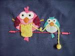pajarillos tricotando