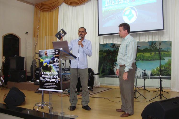 CAMPANHA MUNDIAL DE ORAÇÃO 2011 - 02 a 12 de junho.