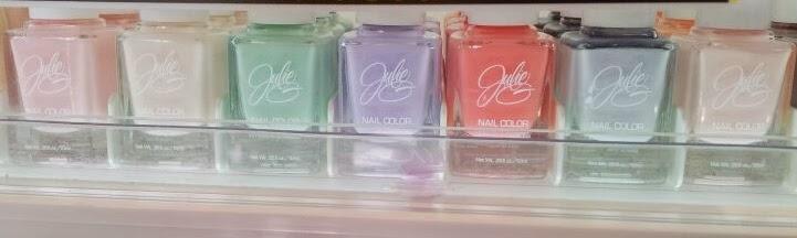 julie g nail polish pastels