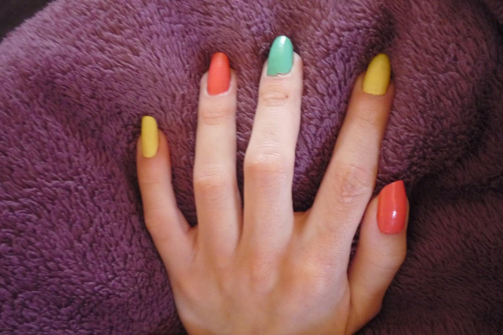 kolorowe lakiery MIYO