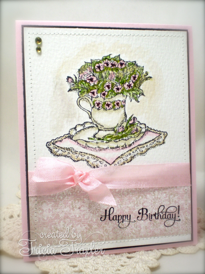 Stamps - Our Daily Bread Designs Birthday Blessings, ODBD Heart and Soul Paper Collection