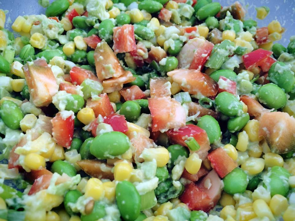 Trimarni Coaching and Nutrition : Avocado and Edamame salad