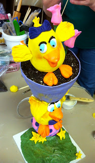 Susan Carberry's Extreme Easter Cake Decorating Demonstration
