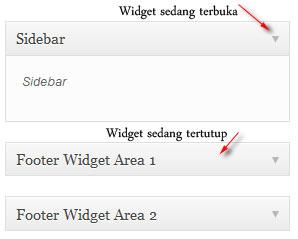 widget terbuka