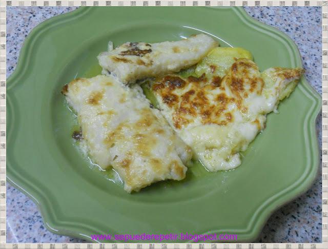 Se puede repetir bacalao con salsa holandesa gratinado - Cocinar bacalao congelado ...