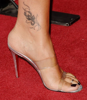 Foot Tattoo Designs women