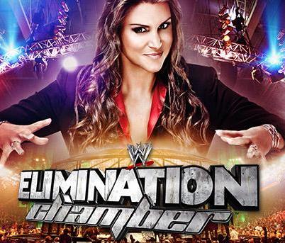 la princesa stephanie mcmahon es la protagonista oficial del logo para el ppv de la WWE elimination chamber 2014