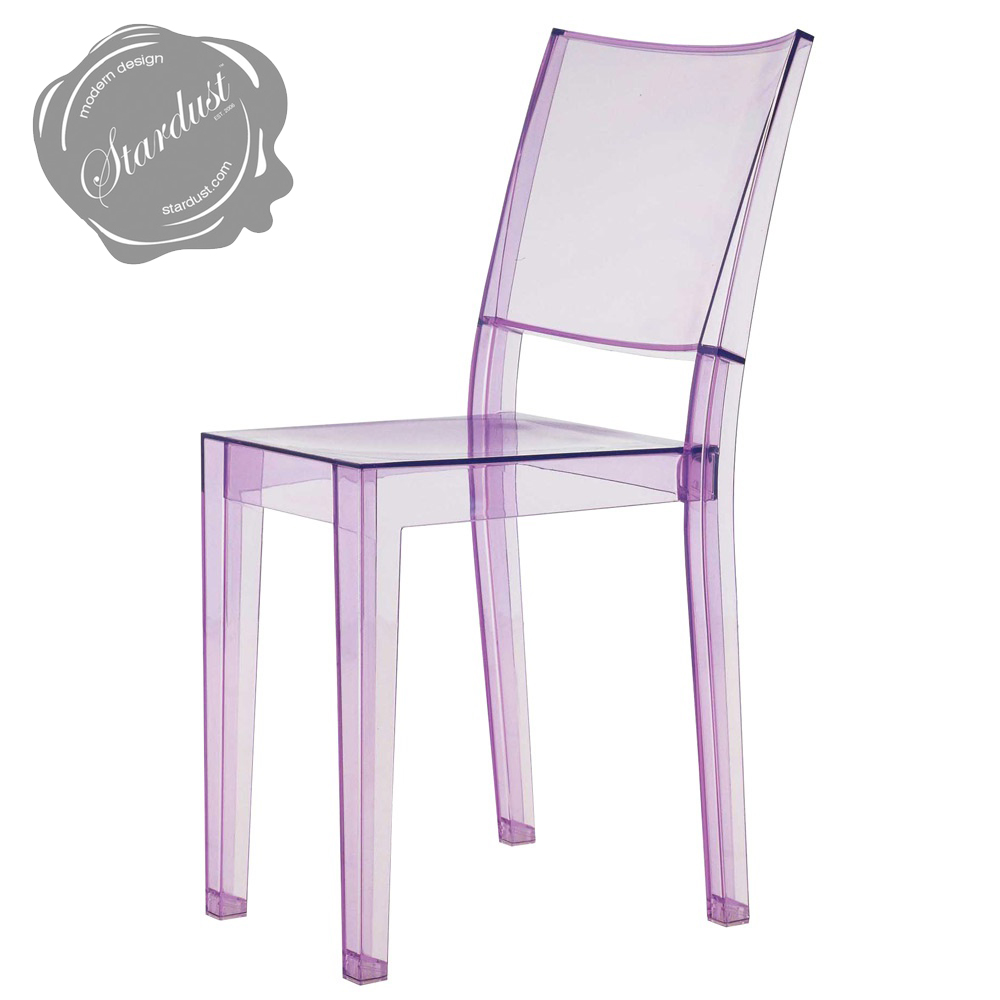 Lamarie chairs 1 seat invisible chair with transparent for Sedie kartell prezzi