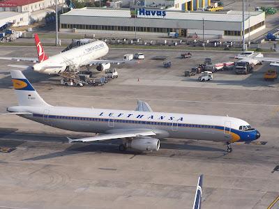 Lufthansa vintage Retro