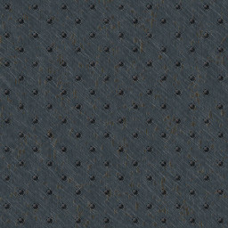Metal Background Pattern With Rivets