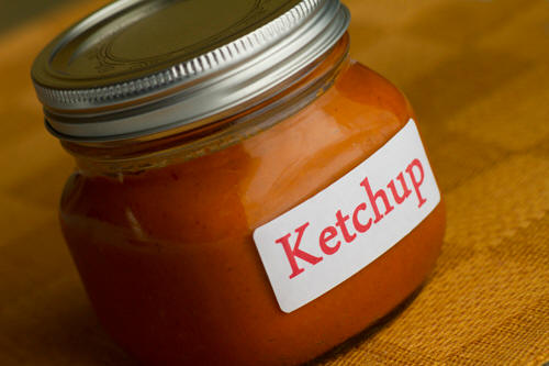 how to make homemade ketchup thicker