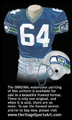 Seattle Seahawks 1999 uniform