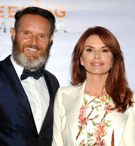 Mark Burnett and Roma Downy