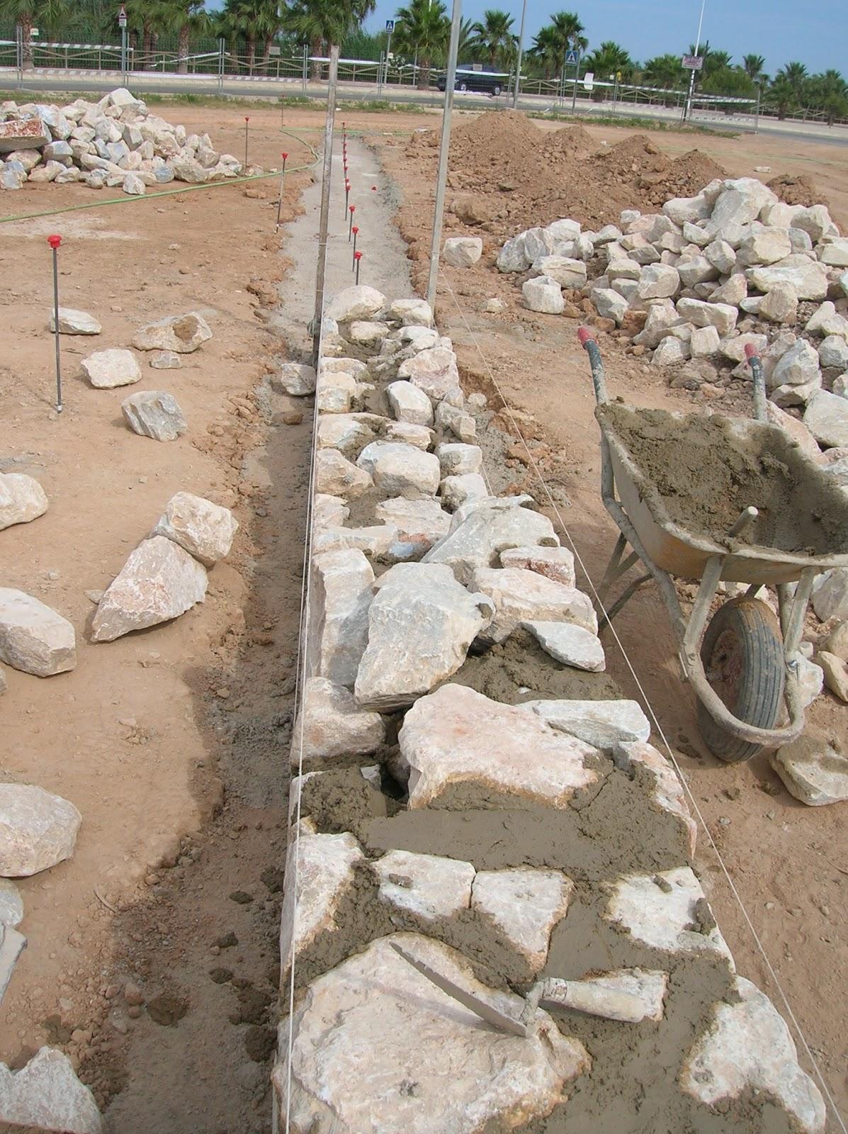 Construcciones el vik - Hacer pared de piedra ...