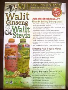 Walit Ginseng & Stevia 1