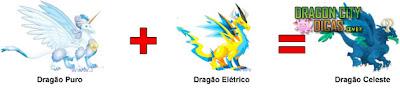 Cruzamento - Dragão Celeste
