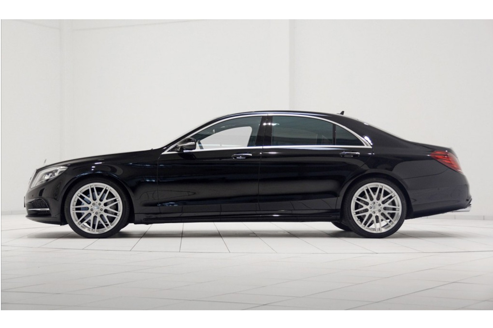 By Brabus Mercedes Benz S550 2014