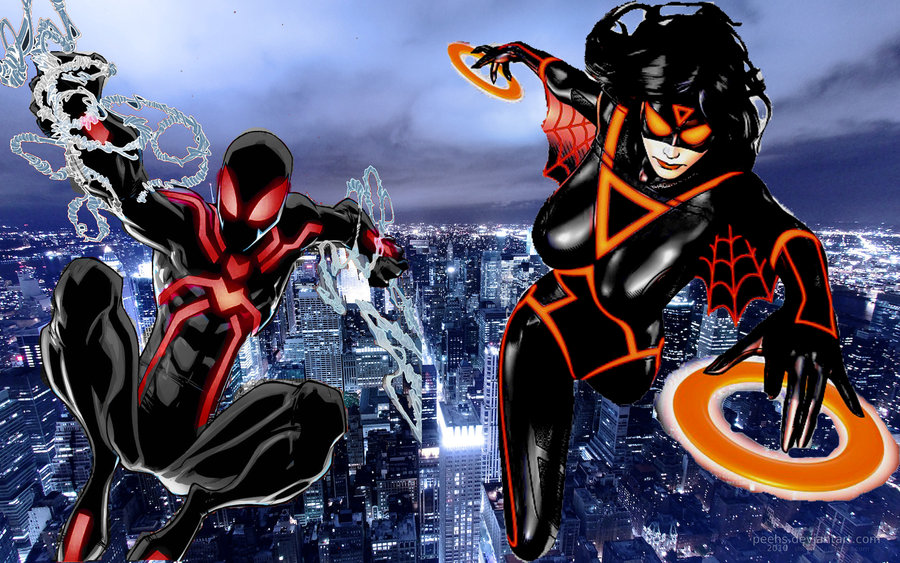 spiderman and spider woman by nemesisdestroyer-d3b9uxd jpgUltimate Spiderman And Spiderwoman