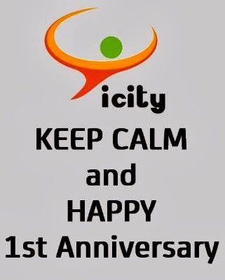 Happy 1st Anniversary Forum Icity