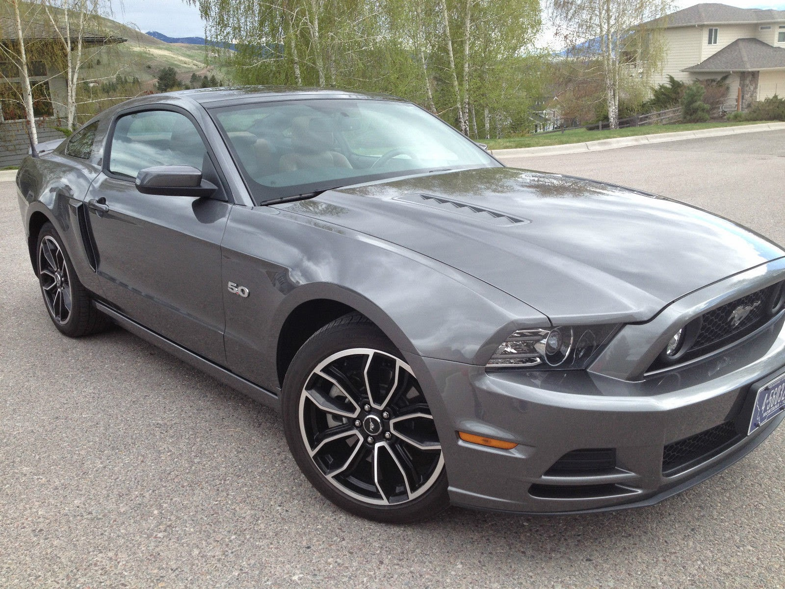 Perfect condition smoke gray 2013 mustang gt premiumkept in climate controlled garage at home low milage 12k nearly all hwy fully loaded with gps