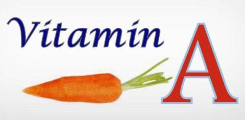 Vitamin A pada wortel